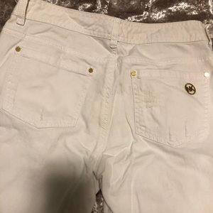 White Michael Kors Jeans - Size 2 NEVER WORN